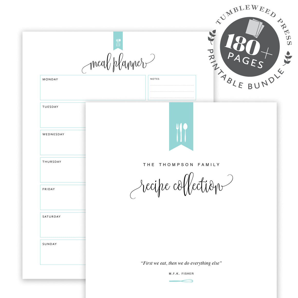 Meal Planning Bundle: Hepburn