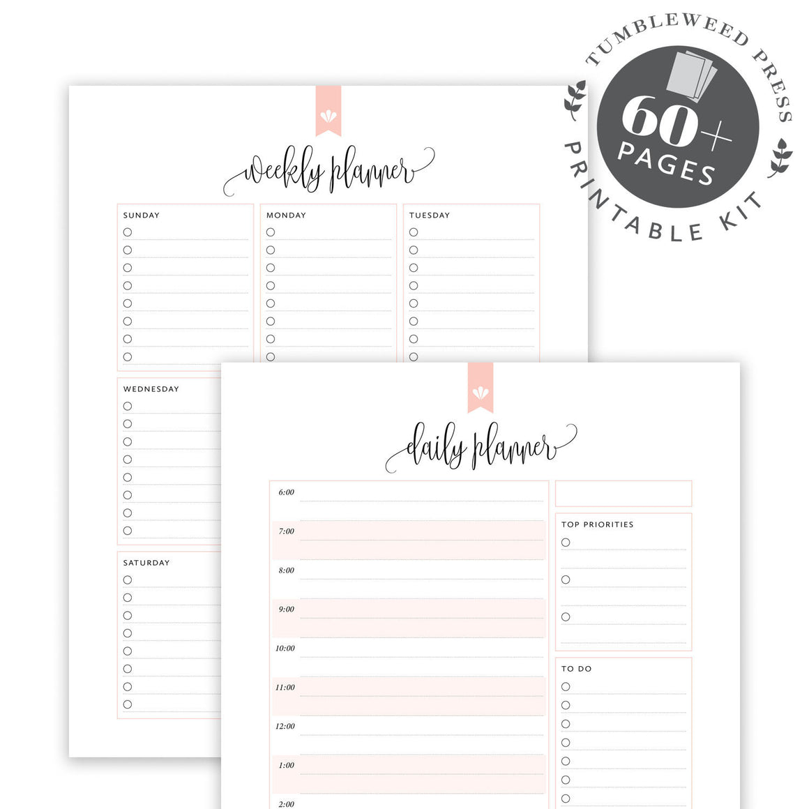 Planner Pack: Taylor