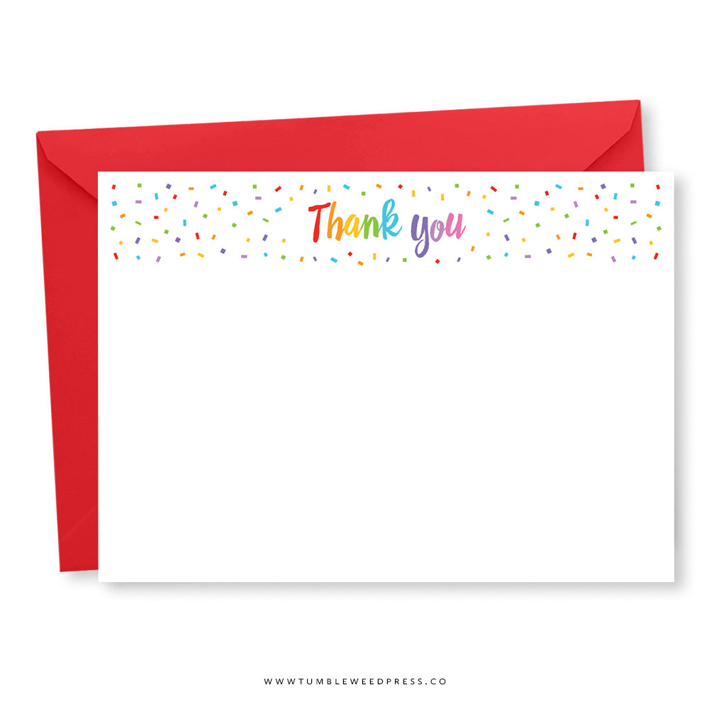 Thank You Note: Rainbow