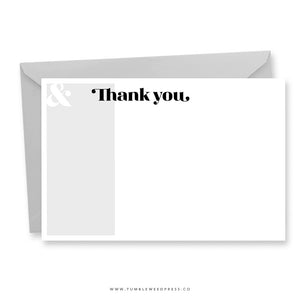 Thank You Notes: Harlow