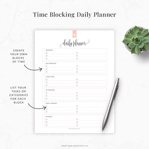 Time Blocking Planner 02: Taylor