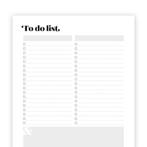 To Do Lists: Harlow
