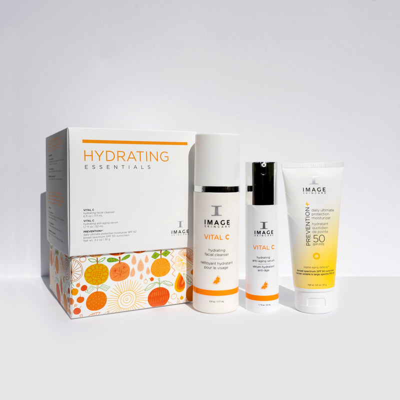 Hydrating Essentials Set (FREE Vital C Cleanser)