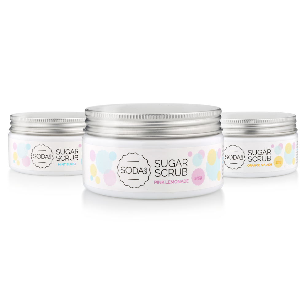 Sugar Scrub 3 Pack