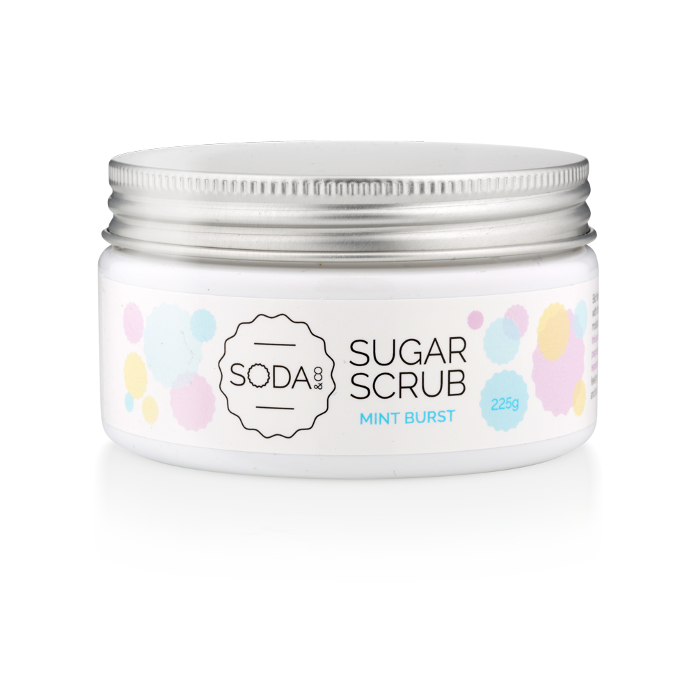 Mint Burst Sugar Scrub 225g