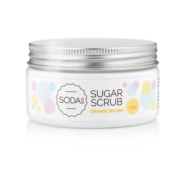 Orange Splash Sugar Scrub 225g