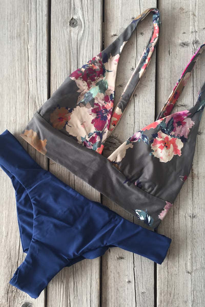 Boys and Arrows Fillis Top Darling and Clairee Bottom Deep Blue