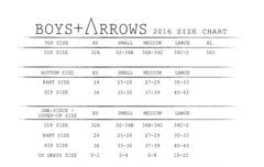 Boys and Arrows Dana Top Red
