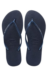 Havaianas Women's Slim Sandals Navy Blue