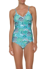 Helen Jon Floating Underwire Tankini Top and Classic Hipster Bottom Dominica