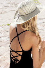 Helen Jon Lattice Back One-Piece