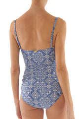 Helen Jon Twist Underwire Tankini and Classic Hipster Bottom Riviera