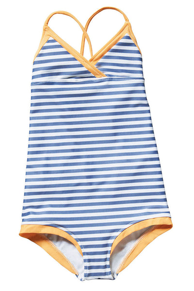 Lilo Tati Preppy Cami One-Piece Orange