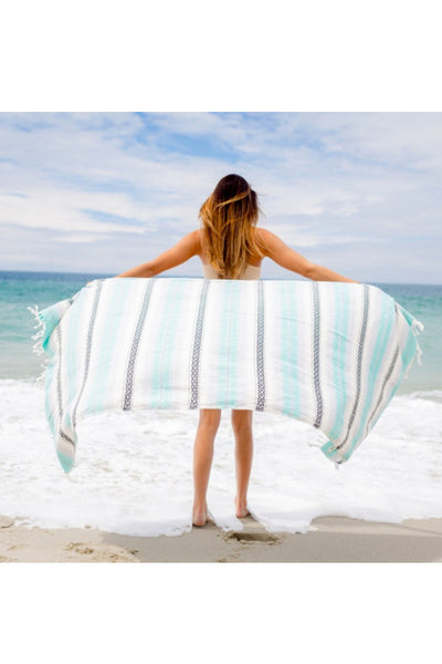 Sand Cloud Seafoam Baja Beach Blanket