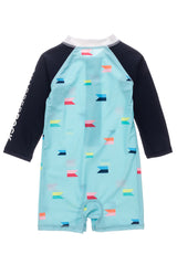 Snapper Maritime Fliers Long Sleeve Sunsuit