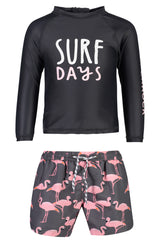Flamingo Surf Baby LS Set