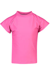 Snapper Rock Fuschia Short Sleeve Rash Top