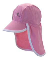 Snapper Rock Flap Hat Pink