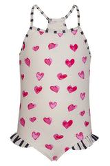 Snapper Rock Hearts Classic Swimsuit
