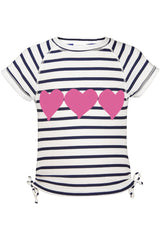Snapper Rock Hearts Classic Rash Top
