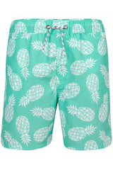 Snapper Rock Mint Pineapple Pool Boardie