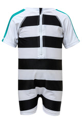 Snapper Rock Baby Short Sleeve Sunsuit Shark