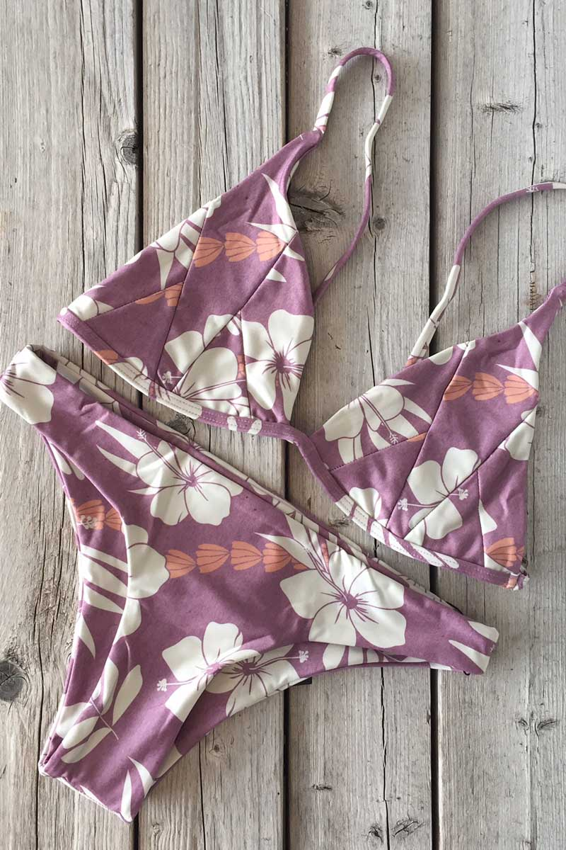 Stone Fox Swim Isla Top and Malibu Bottom Besame