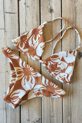 Stone Fox Swim Isla Top and Malibu Bottom Indo Tile