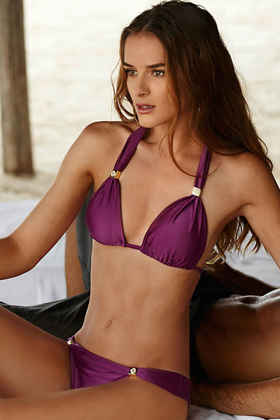 ViX Bia Tube Top and Bia Brazilian Bottom Grape