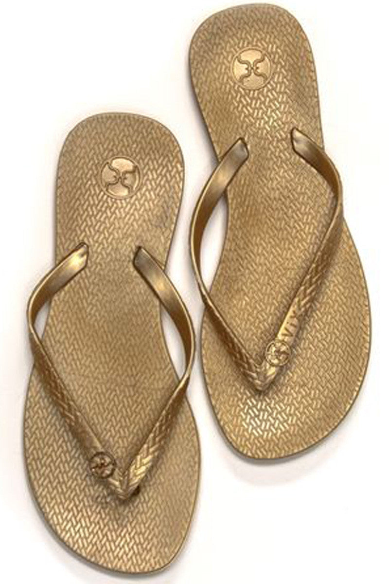 ViX Sandals Solid Gold