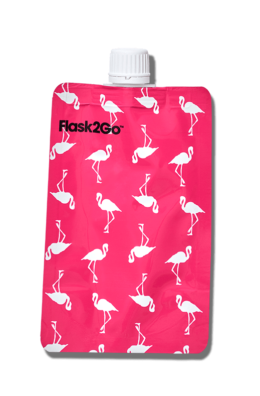 Flask2Go Pink & Flamingos