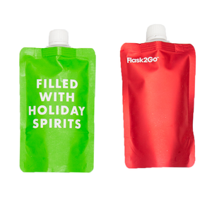 Flask2Go  Filled w/ Holiday Cheer