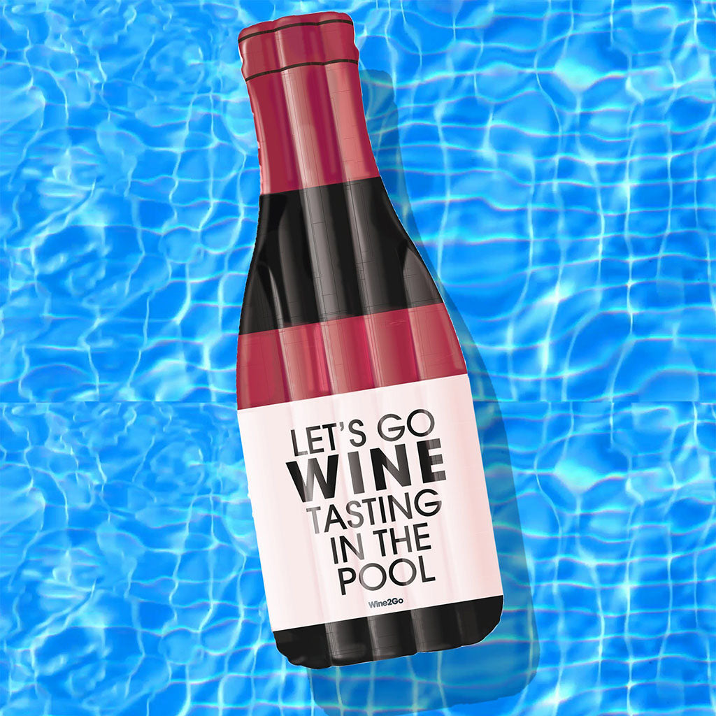 Red Wine Pool Float