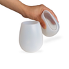 Frosted Silicone Wine Cups (2 pack)