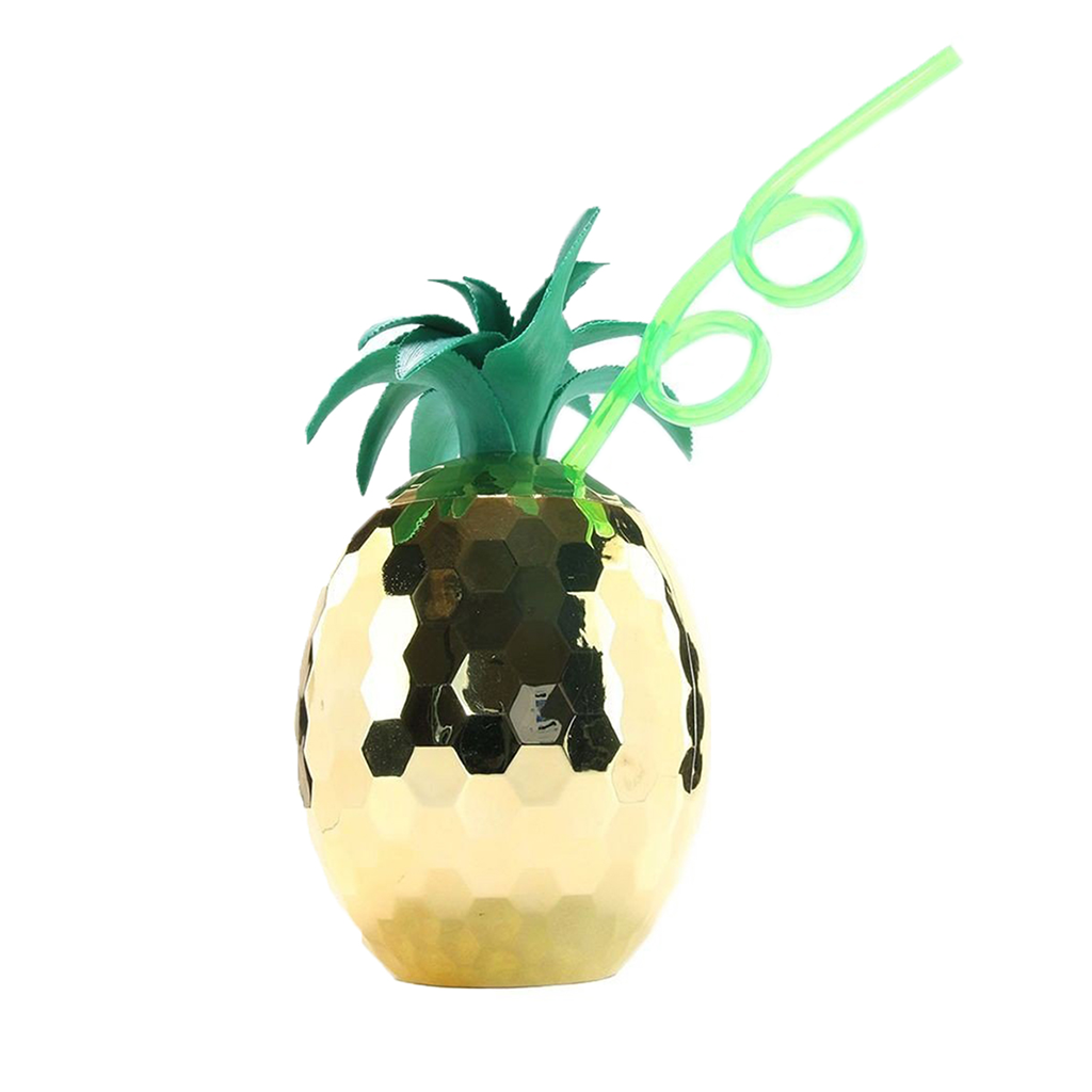 Pineapple Disco Ball Sipper cup