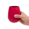Red Silicone Wine Cups (2 pack)