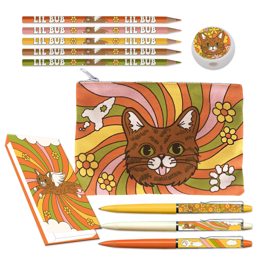 Deluxe Retro BUB Stationery Kit