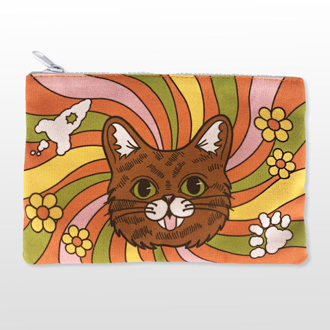 Pencil/Pen/Makeup Pouch - Retro BUB
