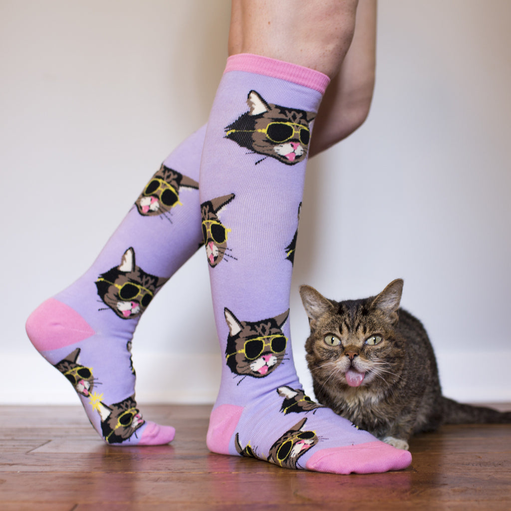Lil BUB Bright Future Socks - Knee