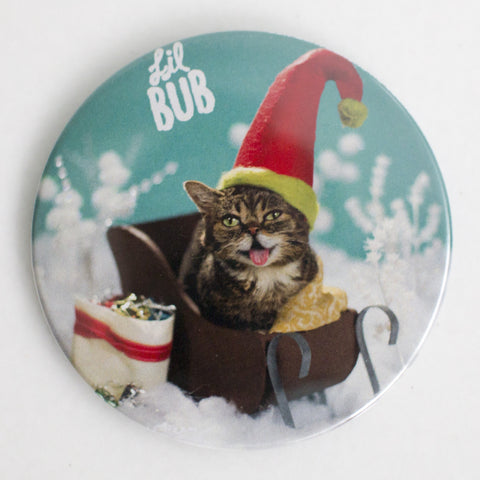 "Limited Edition 3"" Lil BUB Holiday Elf Magnet"