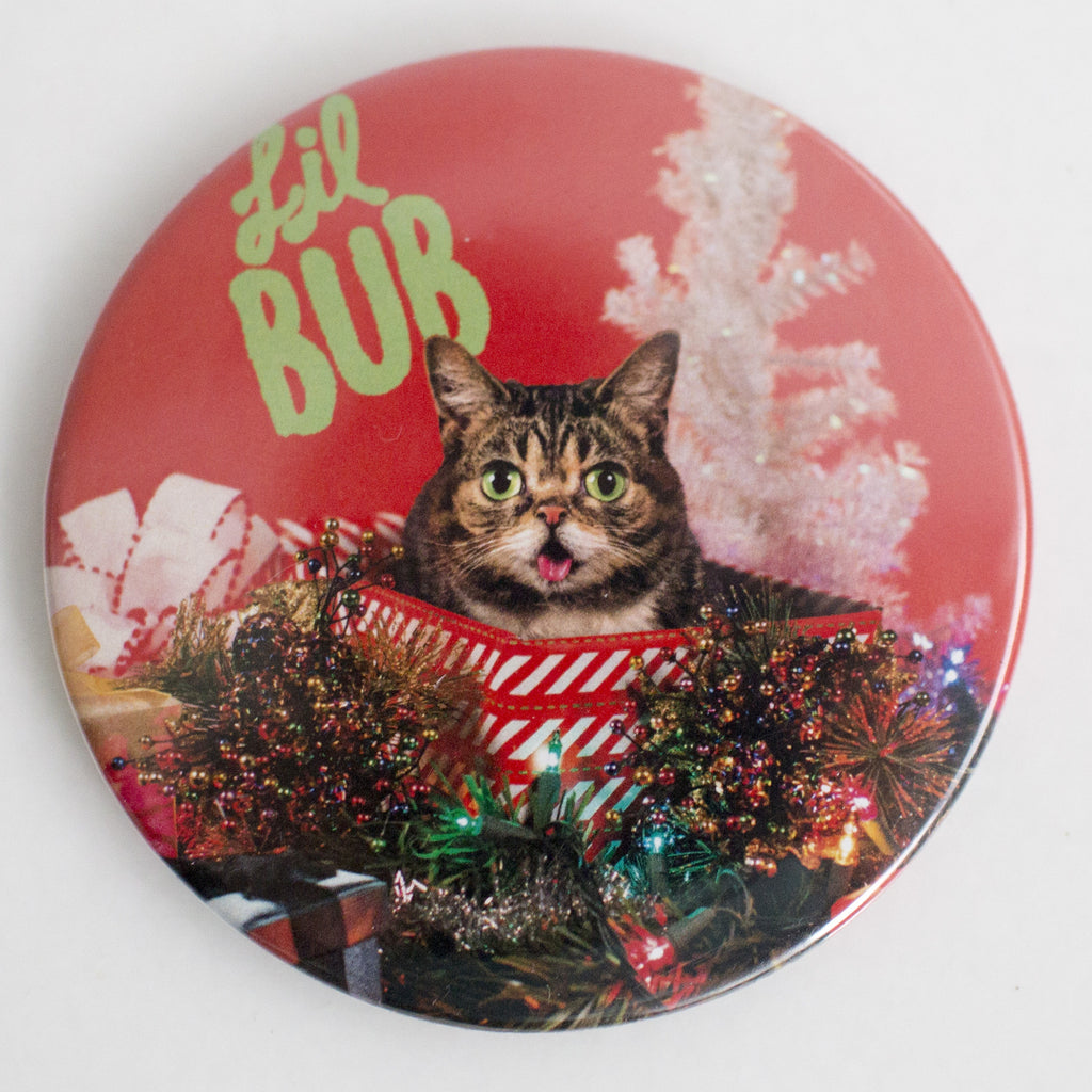 "Limited Edition 3"" Lil BUB Holiday Gift Magnet"