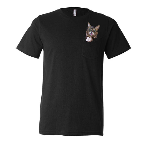 Unisex T-Shirt - BUB IN YOUR POCKET - Black