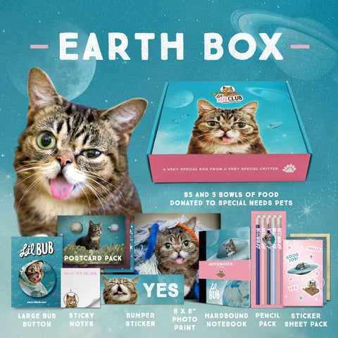 BUB CLUB Space Edition (Q1) - Earth BOX