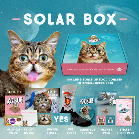 BUB CLUB Space Edition (Q1) - Solar BOX