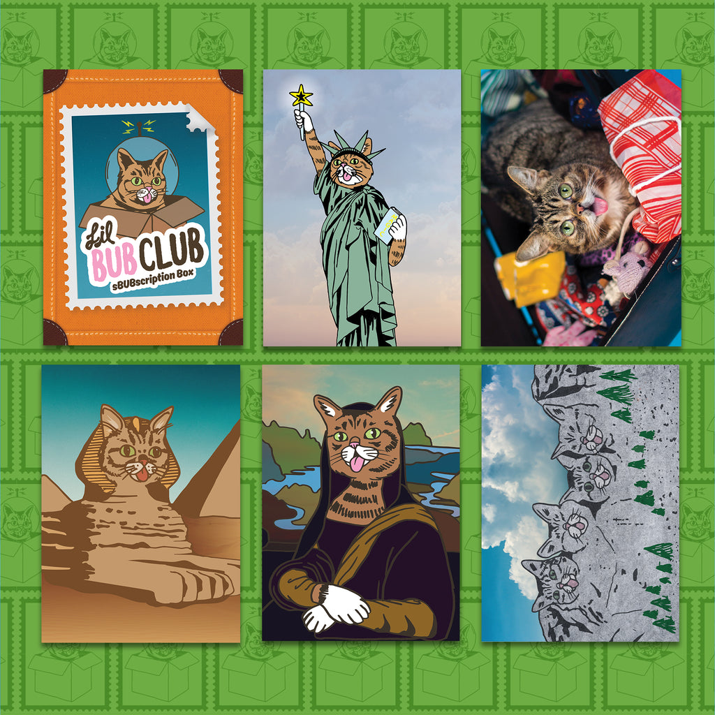 Postcard Pack - Vacation BUB - Set of 6