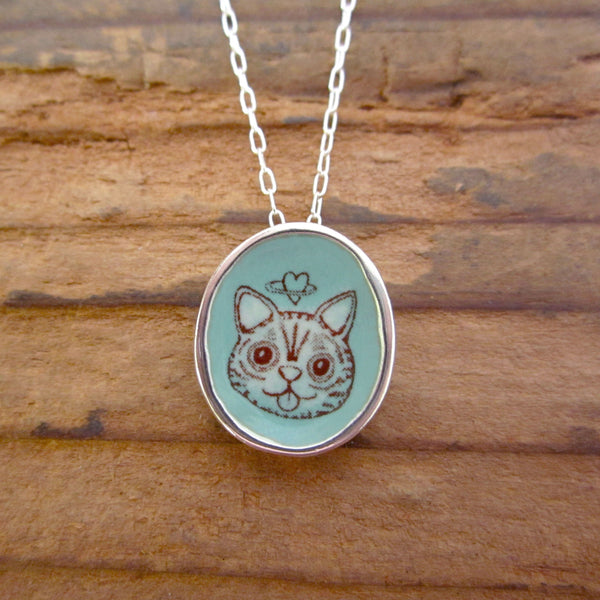 Limited Edition Lil BUB Sterling Silver Necklace