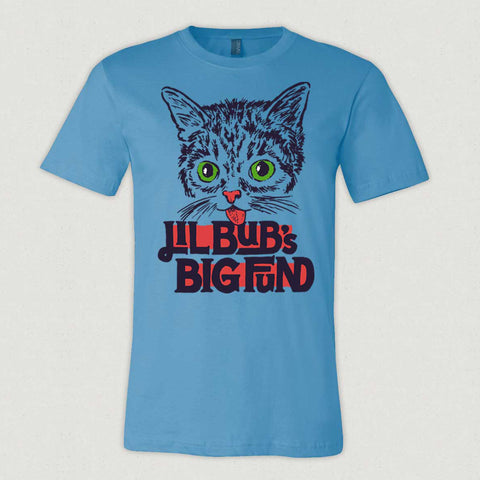 Unisex T-Shirt - Lil BUB's Big FUND - Ocean Blue