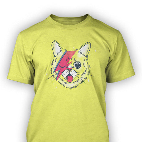 Exclusive CatCon BUBBY Stardust Unisex T-Shirts - Yellow
