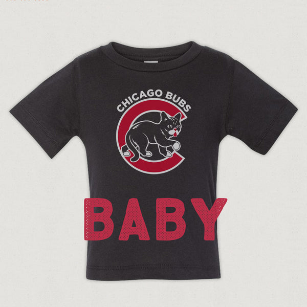 Baby T-Shirt - Chicago BUBs - Black