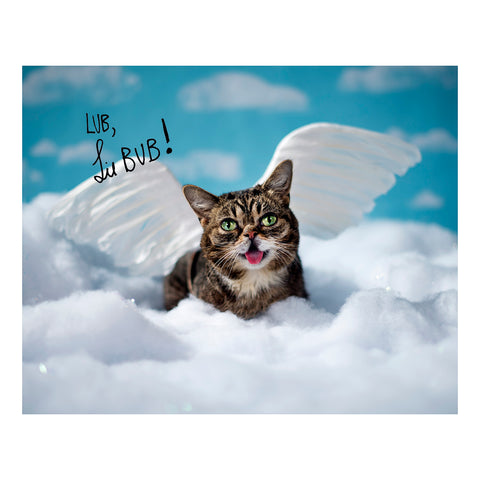 Signed Photo Print - Angel BUB